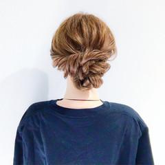 オフィス 結婚式 ヘアアレンジ デート ヘアスタイルや髪型の写真・画像