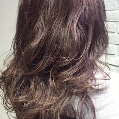ハイライト 外国人風カラー ナチュラル アッシュ ヘアスタイルや髪型の写真・画像