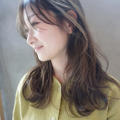 アンニュイほつれヘア ナチュラル 透明感 透明感カラー ヘアスタイルや髪型の写真・画像