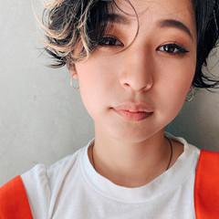 阿藤俊也 ショートヘア ハンサムショート モード ヘアスタイルや髪型の写真・画像