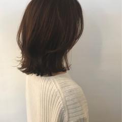 切りっぱなし ゆるふわ 黒髪 ナチュラル ヘアスタイルや髪型の写真・画像