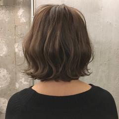 スポーツ オフィス デート ボブ ヘアスタイルや髪型の写真・画像