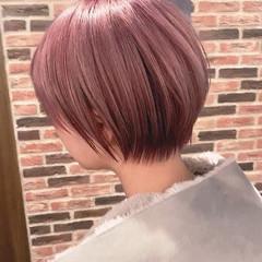 丸みショート ベリーショート ショートヘア ショート ヘアスタイルや髪型の写真・画像