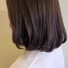 ワンカール ヘアカット ワンカールスタイリング ブラントカット ヘアスタイルや髪型の写真・画像