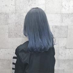 外国人風カラー ミディアム モード 外国人風 ヘアスタイルや髪型の写真・画像