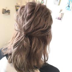 ブリーチ 透明感 ショート ダブルカラー ヘアスタイルや髪型の写真・画像