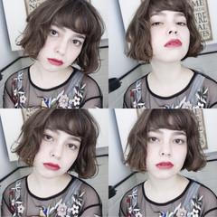 ナチュラル パーマ 外国人風 色気 ヘアスタイルや髪型の写真・画像