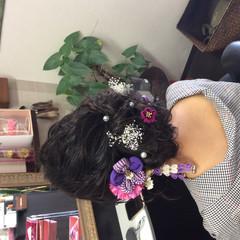着物 成人式ヘア 成人式 成人式ヘアメイク着付け ヘアスタイルや髪型の写真・画像