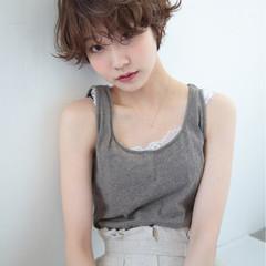 小顔 マッシュ 女子力 似合わせ ヘアスタイルや髪型の写真・画像