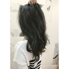 外国人風 アッシュ ハイライト ストリート ヘアスタイルや髪型の写真・画像