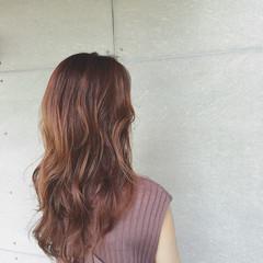 コンサバ 秋 ゆるふわ ロング ヘアスタイルや髪型の写真・画像