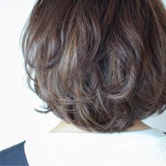 ナチュラル ボブ 外国人風 ブリーチ ヘアスタイルや髪型の写真・画像