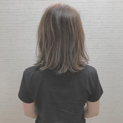 ヘアアレンジ 外国人風 ナチュラル 切りっぱなし ヘアスタイルや髪型の写真・画像