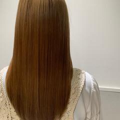 髪質改善 ハイトーン トリートメント ツヤ髪 ヘアスタイルや髪型の写真・画像