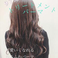 モテ髪 エレガント 小顔ヘア パーマ ヘアスタイルや髪型の写真・画像