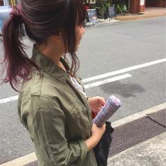 大人かわいい ストリート ショート グラデーションカラー ヘアスタイルや髪型の写真・画像
