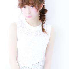 愛され モテ髪 ヘアアレンジ 夏 ヘアスタイルや髪型の写真・画像