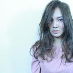 大人かわいい ニュアンス 外国人風 大人女子 ヘアスタイルや髪型の写真・画像
