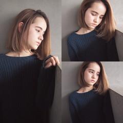 ワンレングス ストレート 色気 こなれ感 ヘアスタイルや髪型の写真・画像