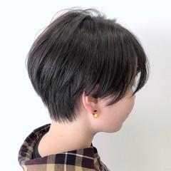 ショートヘア 小顔ショート ナチュラル 大人ショート ヘアスタイルや髪型の写真・画像