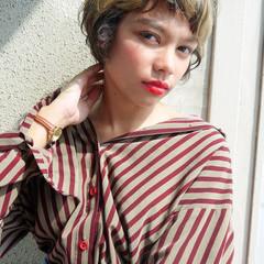 透明感 モテ髪 かわいい ショート ヘアスタイルや髪型の写真・画像