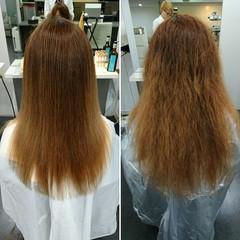 縮毛矯正 ストレート 梅雨 ナチュラル ヘアスタイルや髪型の写真・画像