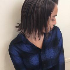 透明感 外国人風 ウェーブ ナチュラル ヘアスタイルや髪型の写真・画像