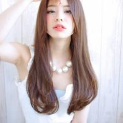 モテ髪 ロング ナチュラル 愛され ヘアスタイルや髪型の写真・画像