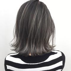 ボブ ストリート 外国人風 バレイヤージュ ヘアスタイルや髪型の写真・画像