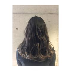 暗髪 外国人風 冬 ナチュラル ヘアスタイルや髪型の写真・画像