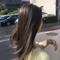 ウェーブ 透明感 ブルーアッシュ ゆるふわ ヘアスタイルや髪型の写真・画像