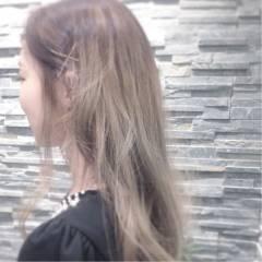 ストリート モテ髪 愛され ロング ヘアスタイルや髪型の写真・画像