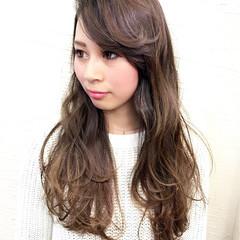 こなれ感 大人女子 セミロング 冬 ヘアスタイルや髪型の写真・画像
