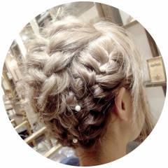 ヘアアレンジ モテ髪 秋 ガーリー ヘアスタイルや髪型の写真・画像