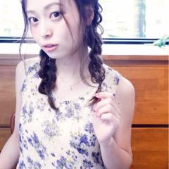 ヘアアレンジ フェミニン コンサバ モテ髪 ヘアスタイルや髪型の写真・画像