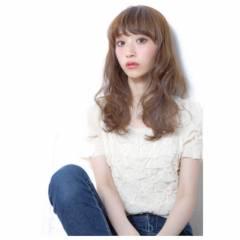 フェミニン ゆるふわ ウェーブ 春 ヘアスタイルや髪型の写真・画像