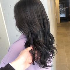 ナチュラル 透明感カラー ブリーチなし ダークカラー ヘアスタイルや髪型の写真・画像