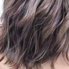 外国人風カラー ミディアム 上品 エレガント ヘアスタイルや髪型の写真・画像