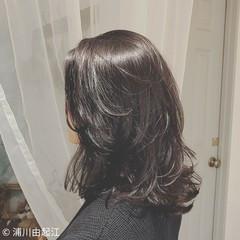 ウェーブ ナチュラル 女子力 大人かわいい ヘアスタイルや髪型の写真・画像