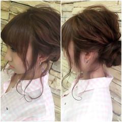 外国人風 ヘアアレンジ おフェロ ガーリー ヘアスタイルや髪型の写真・画像