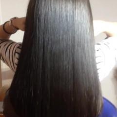 ブラウン 暗髪 グラデーションカラー 外国人風 ヘアスタイルや髪型の写真・画像