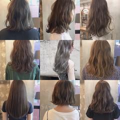 色気 ヘアアレンジ リラックス ミディアム ヘアスタイルや髪型の写真・画像
