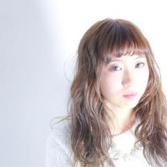 かわいい 小顔 イルミナカラー 大人女子 ヘアスタイルや髪型の写真・画像