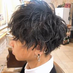 メンズヘア ストリート メンズパーマ メンズ ヘアスタイルや髪型の写真・画像