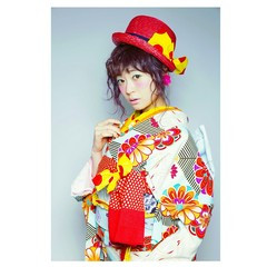 ミディアム ヘアアレンジ 着物 外国人風 ヘアスタイルや髪型の写真・画像