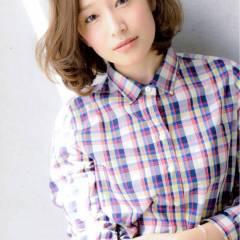 秋 ミディアム モテ髪 かっこいい ヘアスタイルや髪型の写真・画像
