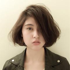 前髪あり ストリート アッシュ 外国人風 ヘアスタイルや髪型の写真・画像