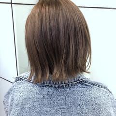 大人可愛い ガーリー 透明感カラー ショートボブ ヘアスタイルや髪型の写真・画像