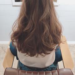 オフィス デート ハロウィン セミロング ヘアスタイルや髪型の写真・画像