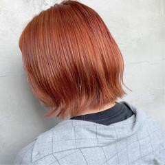 ハイライト ブリーチ ショート ストリート ヘアスタイルや髪型の写真・画像